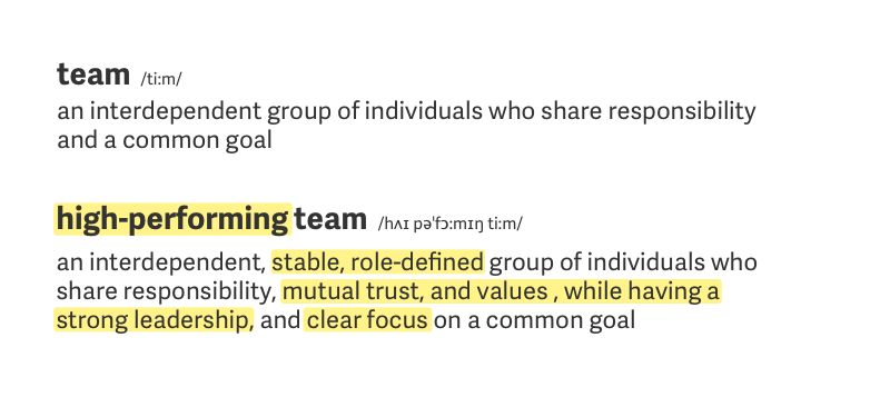 High Performing Teams: What Are They and How Do I Build One