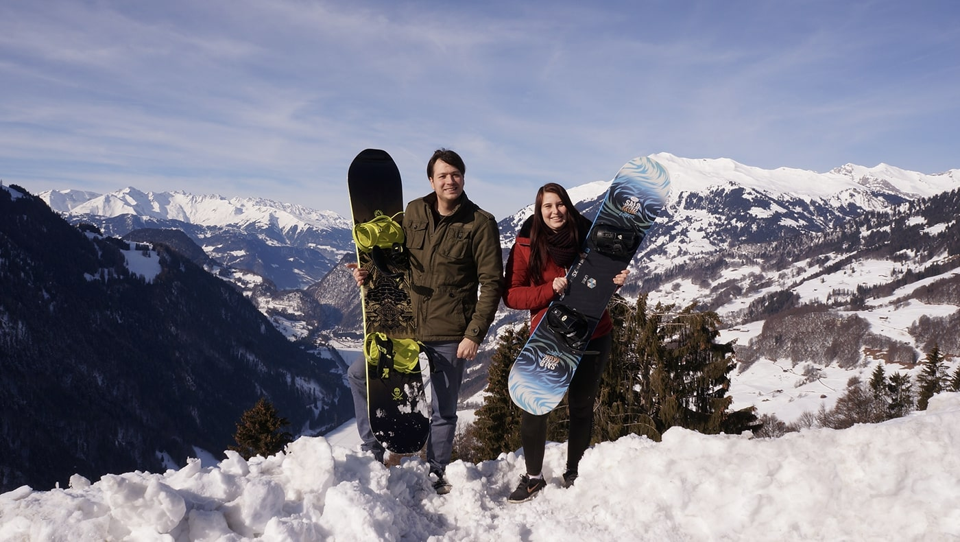 Working in the Alps - Where Snowboarding and Software Development Meet