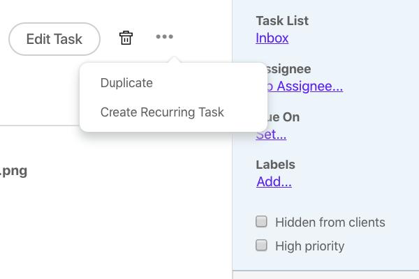 Duplicate-tasks
