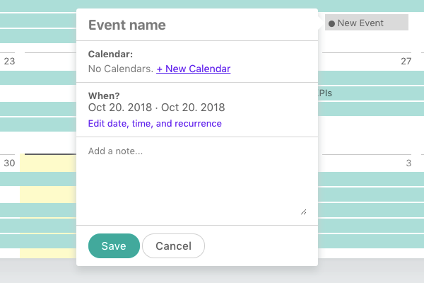 Event-note