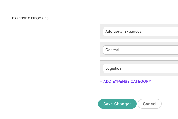 Expense-categories