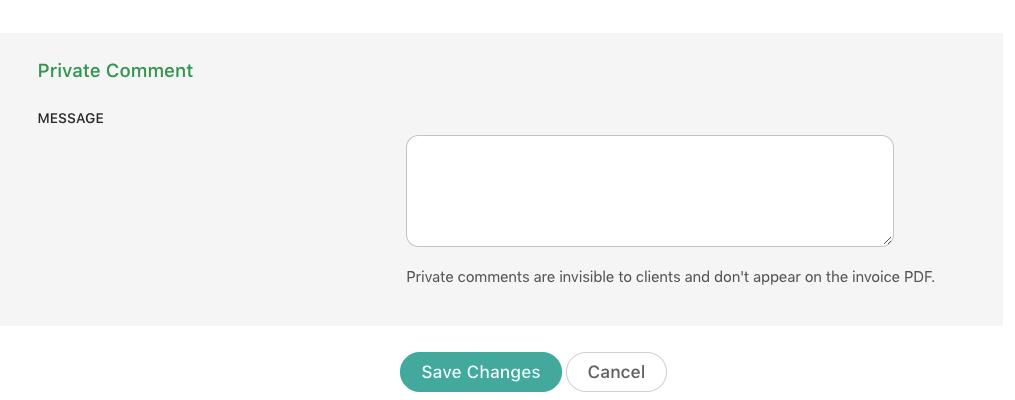 Private-comment