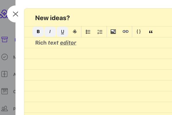 Rich-text-editor
