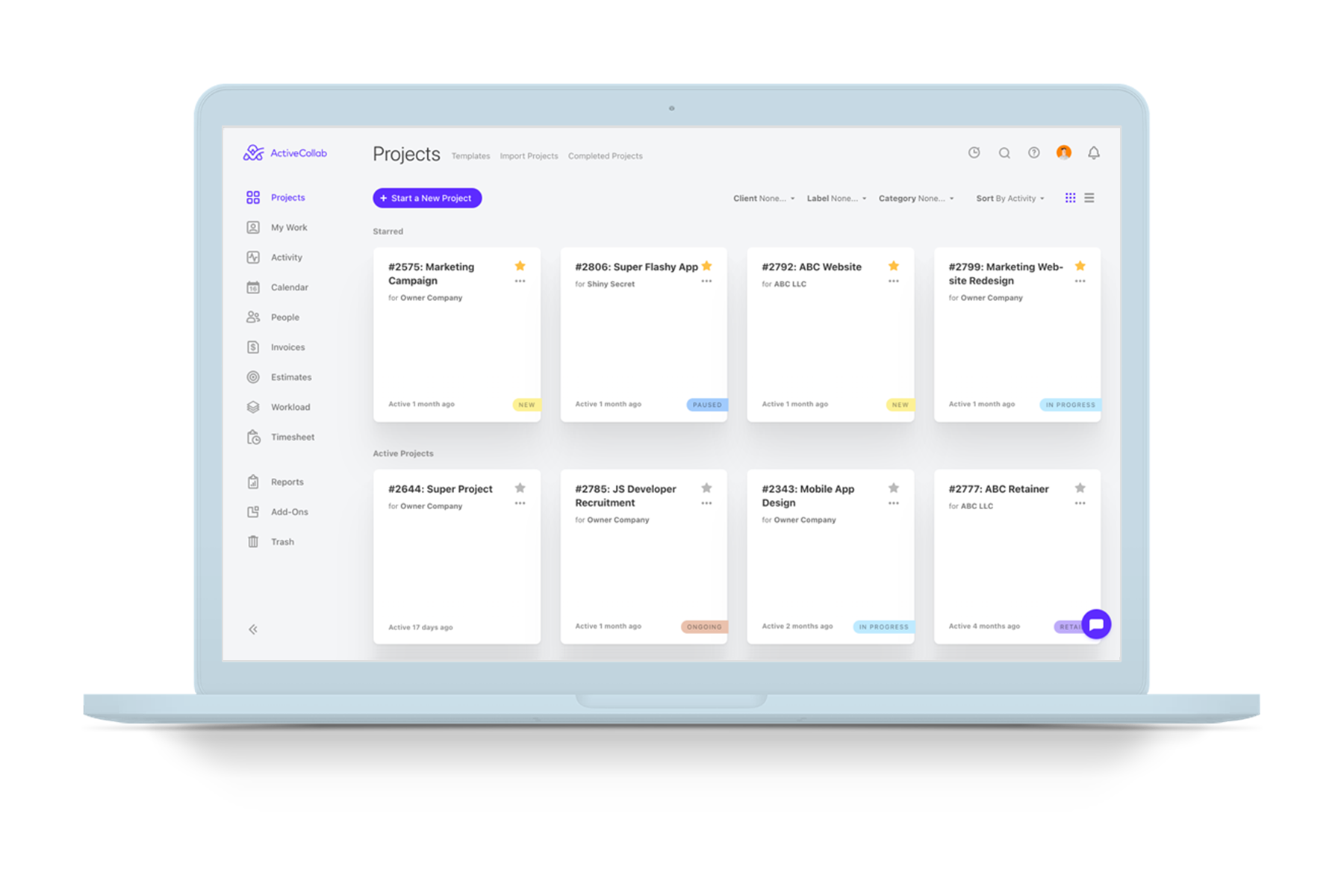 ActiveCollab desktop app