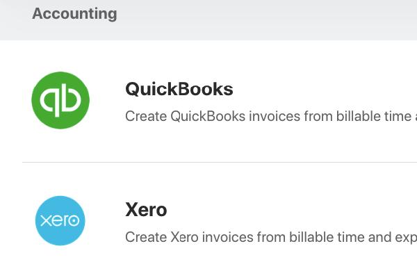 quickbooks xero integration invoice clients