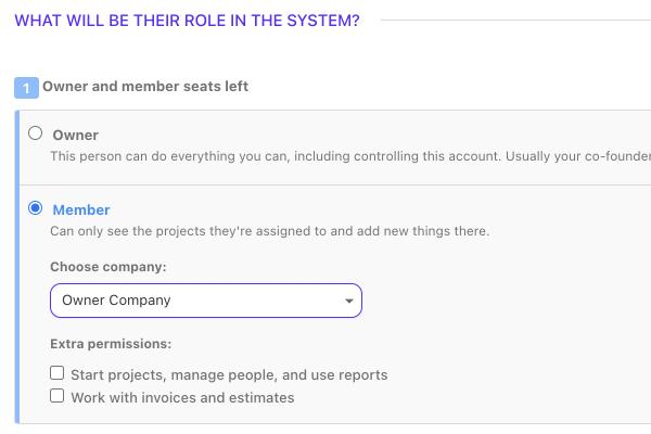 roles people team members