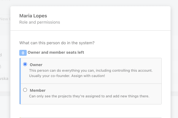 owner user role in ActiveCollab.