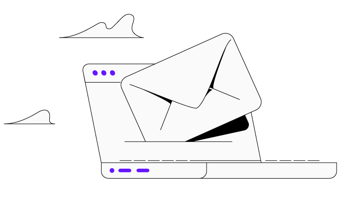 Asynchronous communication through email