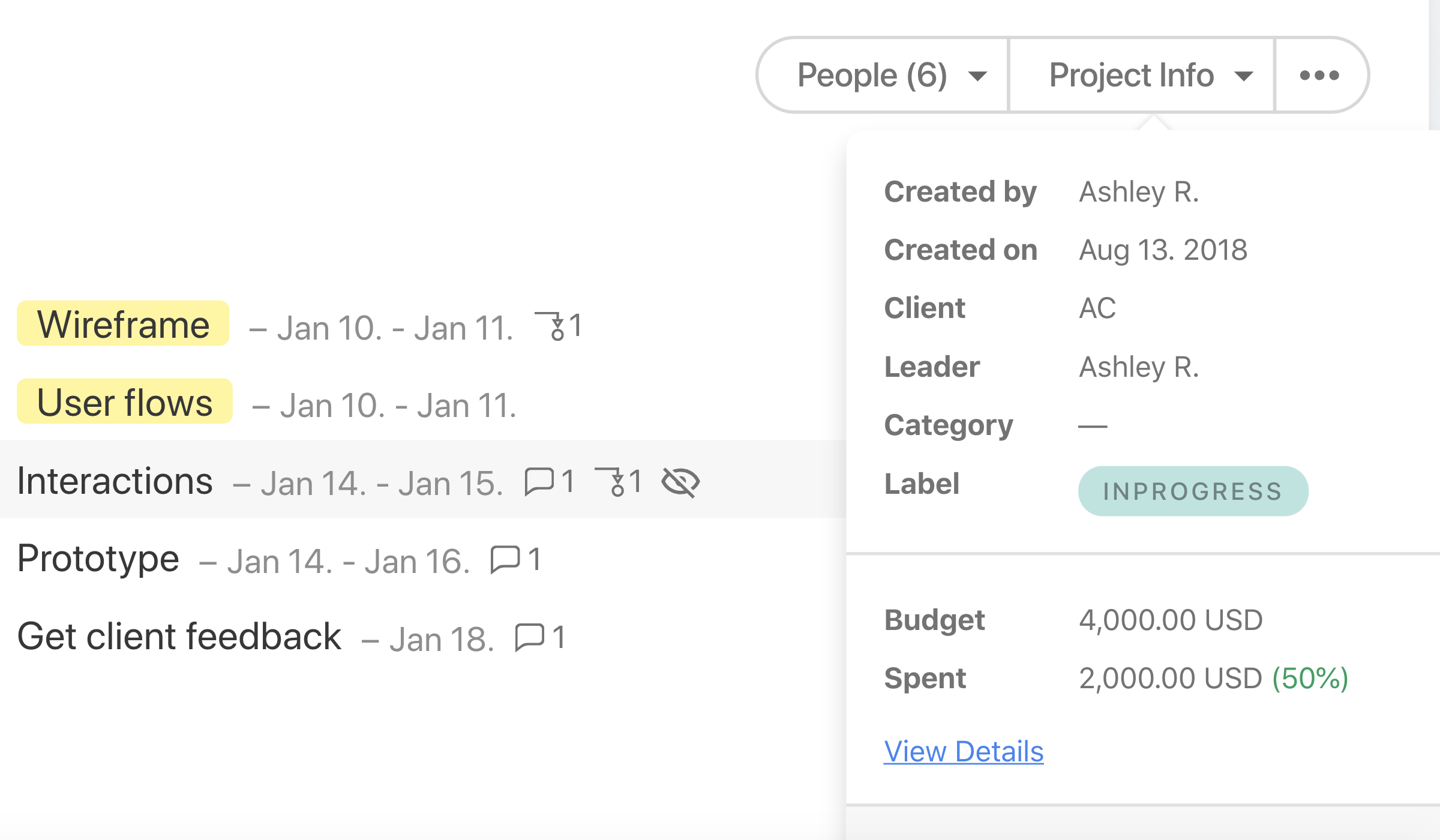 project-budgeting